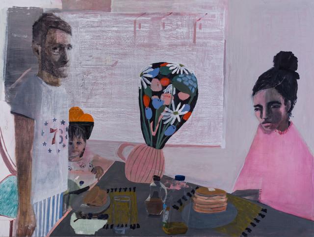 , 'Breakfast at 13th St.,' 2018, Nancy Margolis Gallery