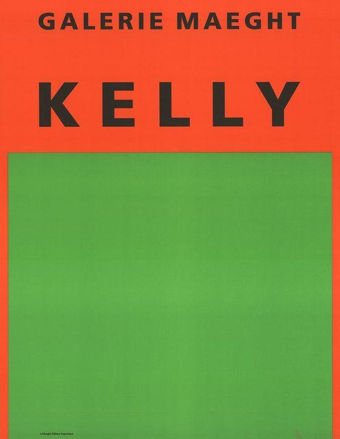 Ellsworth Kelly, 'Orange et Vert', 1964, ArtWise