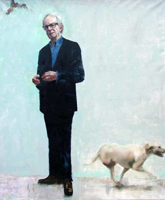 Richard Twose, 'Ken Loach', 2017, Painting, Oil on Canvas, Catto Gallery
