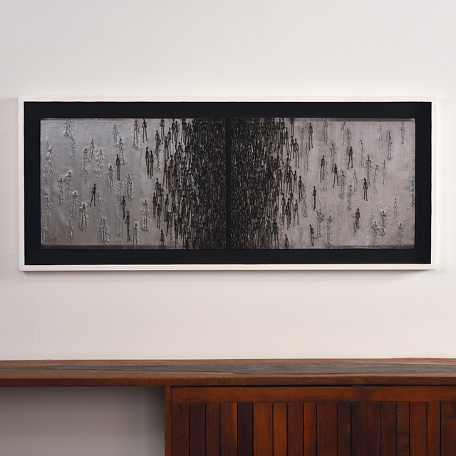 , 'Lead Relief,' 2011, browngrotta arts