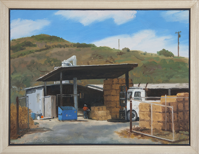 ", '""Grain and Feed on Monument Road"",' 2017, Scott White Contemporary Art"