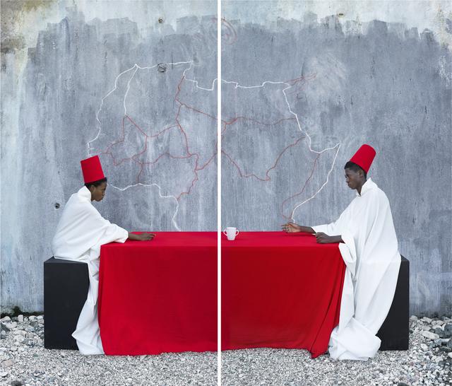 Maïmouna Guerresi, 'White Cup', 2014, Photography, Lambda print, Officine dell'Immagine