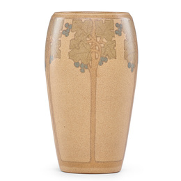 Fine vase with stylized trees, Marblehead