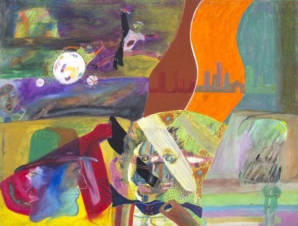 Reginald K Gee, 'As I Waste Time On Earth', 1991, David Barnett Gallery