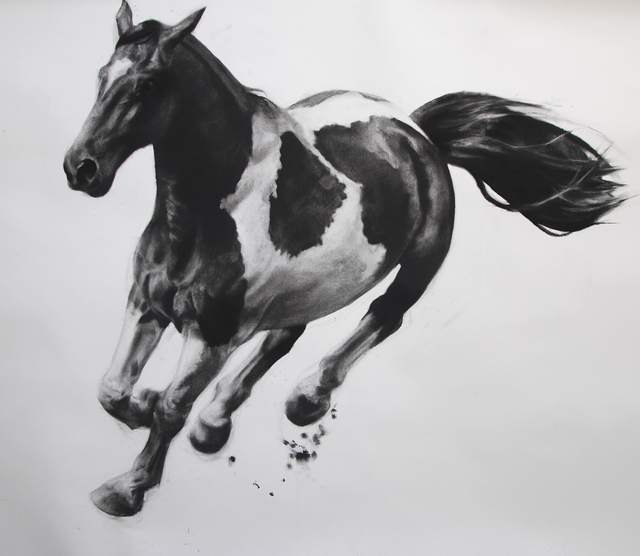 , 'The Charge,' 2016, DECORAZONgallery