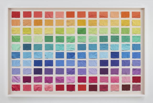 , 'Untitled (Crumpled Chromatic Scale), Handmade,' 2016, Sikkema Jenkins & Co.