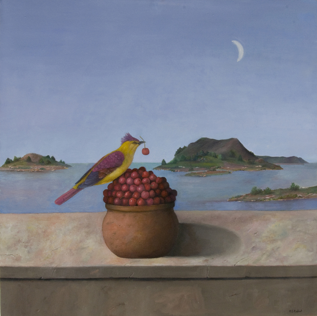 , 'Bird With Cherries,' , Clark Gallery