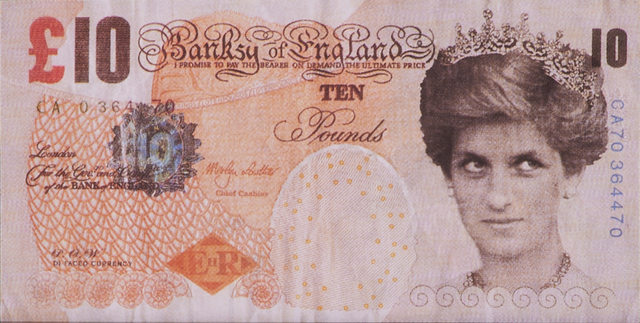 Banksy, 'Di-faced Tenner, 10 GBP Note', 2005, Rago