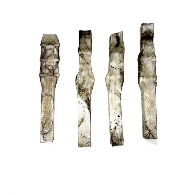 , 'Extruded Clay Forms,' 2017, Santa Fe Clay
