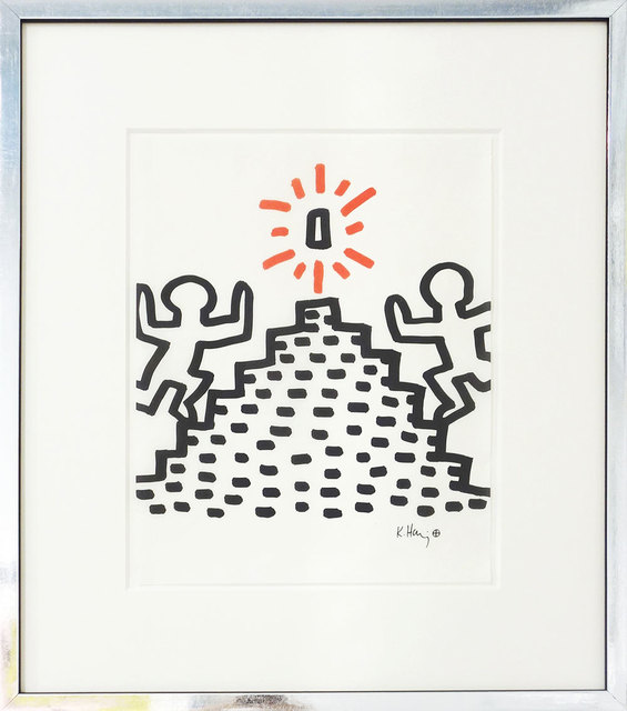 Keith Haring, 'Heading for the prize', ca. 1982, Galerie Kellermann