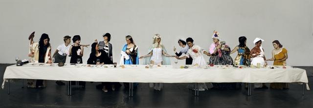 , 'Last Supper of Godness,' 2015, L-Art Gallery