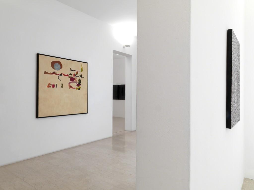 OTTO Gallery in Villa delle Rose, Giuseppe Gallo's artwork