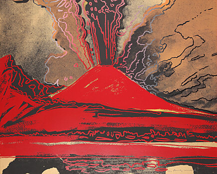 , 'Vesuvius,' 1985, Galerie Boisseree