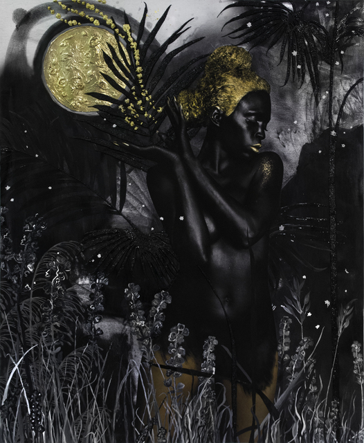 , 'Know we will be reborn amidst all the stars. ex nihilo (Dark Continent series),' 2015-2018, Mariane Ibrahim Gallery