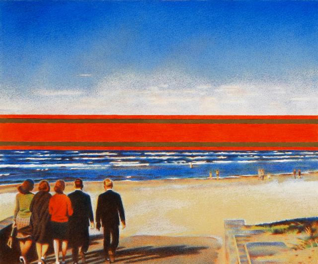 , 'Red Horizon,' , New York Academy of Art