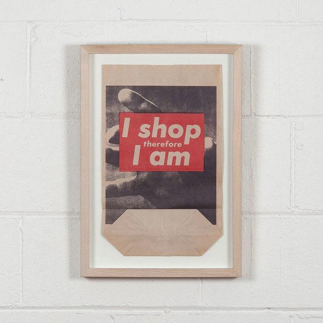 , 'I Shop Therefore I Am,' 1990, Caviar20