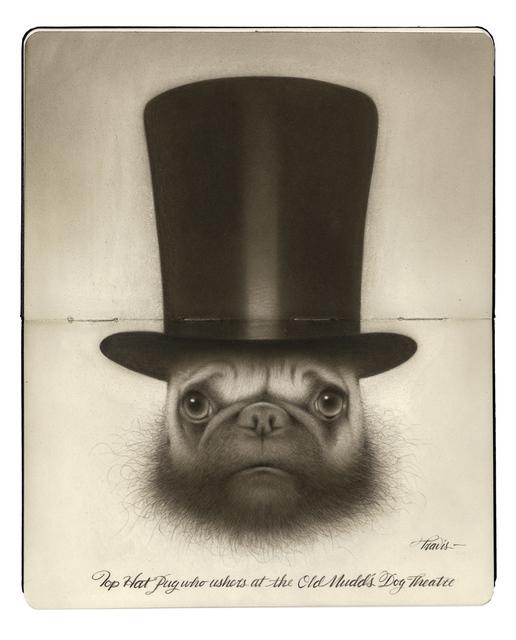 , 'Top Hat Pug,' 2017, Spoke Art