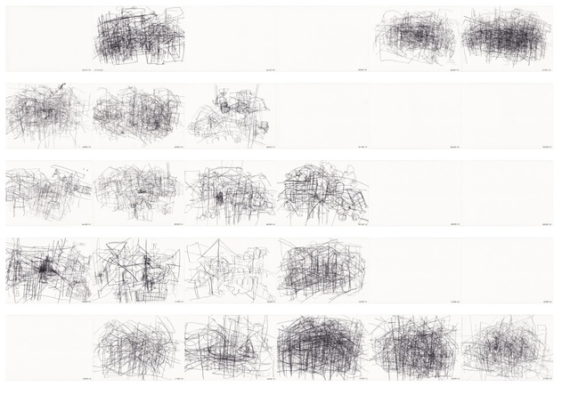 , 'De Esquirol à Eisenhower no.2,' 2010, Galerie Liusa Wang