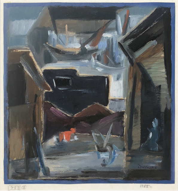 Werner Drewes, 'Hamburg Coal Yard', 1955, William Havu Gallery