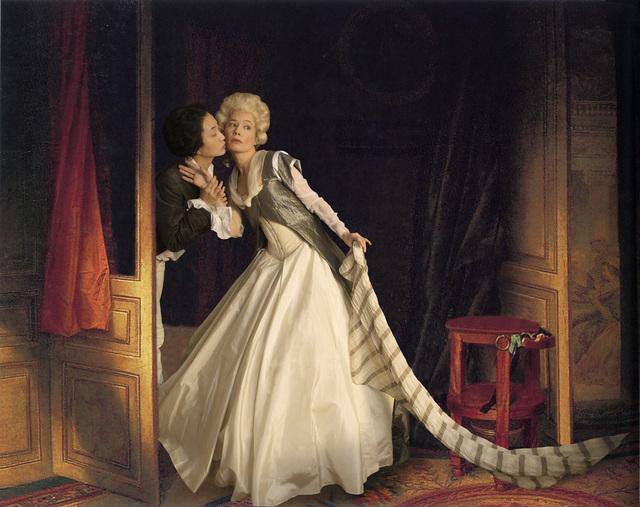 , 'Ode to Fragonard's Stolen Kiss,' 2013, Jonathan Ferrara Gallery