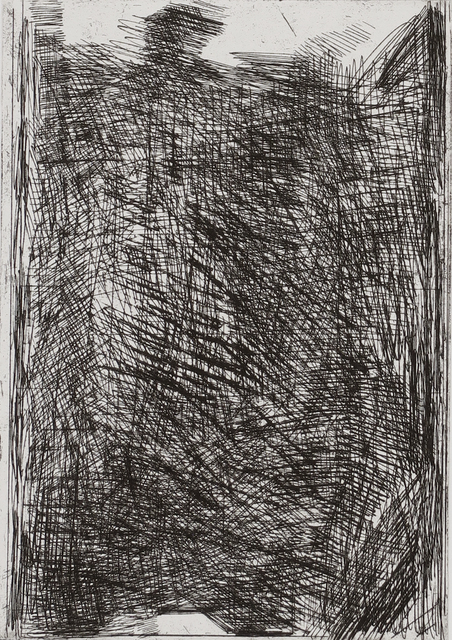 , 'Black Hardground,' 2016, BERG Contemporary