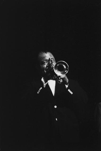 Hervé GLOAGUEN, 'Louis Armstrong, Paris, 1964', 1964, Galerie Arcturus
