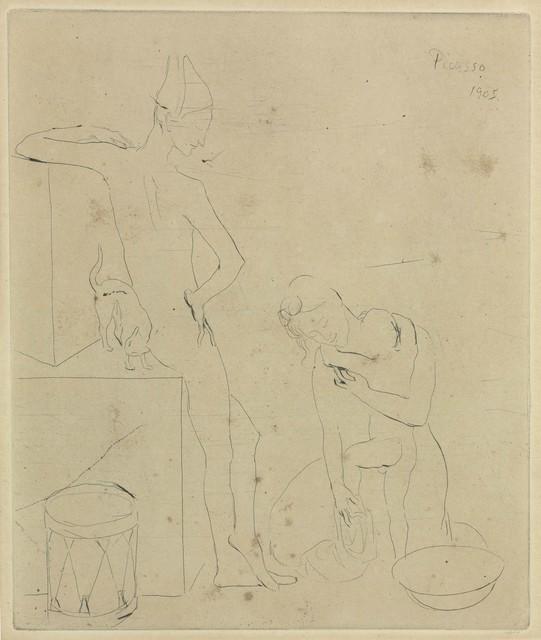 Pablo Picasso, 'Le Bain, from La Suite des Saltimbanques', 1905, Christie's