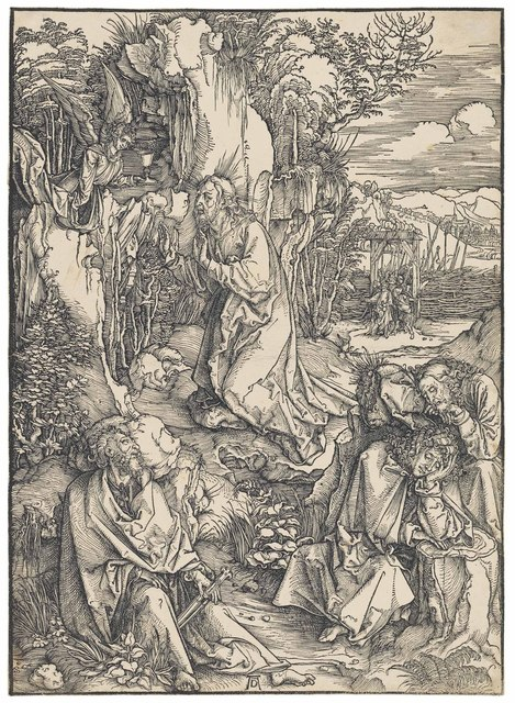 , 'Christ on the Mount of Olives, from: The Large Passion (B. 6; M., Holl. 115; S.M.S. 156),' ca. 1496-97, Christie's Old Masters