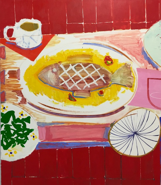 , 'Fish Dinner in Queens,' 2018, Page Bond Gallery