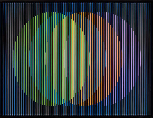 , 'Cromointerferencia Espacial 12,' 1964-2015, RGR+ART