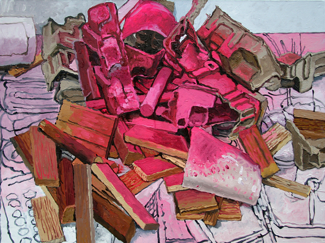 , 'Pink Scatter,' 2015, Park Place Gallery