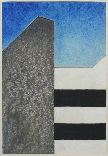 , 'Grauer Giebel,' 1987, SMUDAJESCHECK