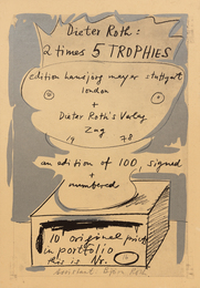 2 times 5 TROPHIES (portfolio of eleven works)