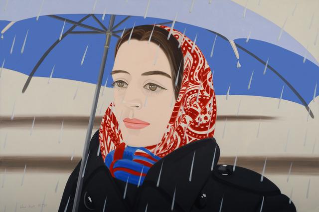 Alex Katz, 'Blue Umbrella 2', 2020, Print, Archival pigment inls on Museo Max, Adamar Fine Arts