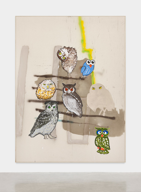 David Ostrowski, 'Political Paintings (Männer die Pfeifen)', 2019, Magenta Plains