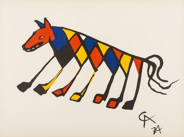 Alexander Calder, 'Convection, Beastie, Skybird', 1974, Forum Auctions