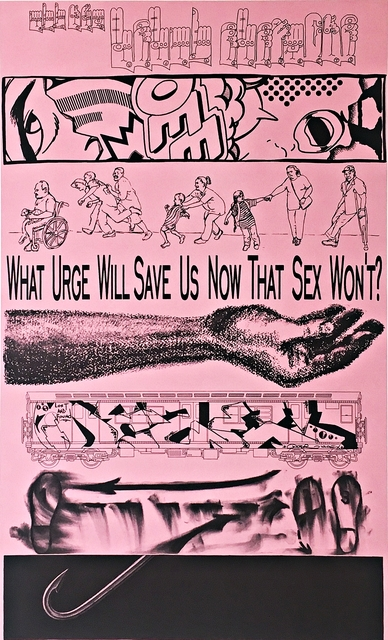 , 'The Usual Suspects (Unique One-Off Collaboration; Hand Signed by all Eight Artists),' 1996, Alpha 137 Gallery