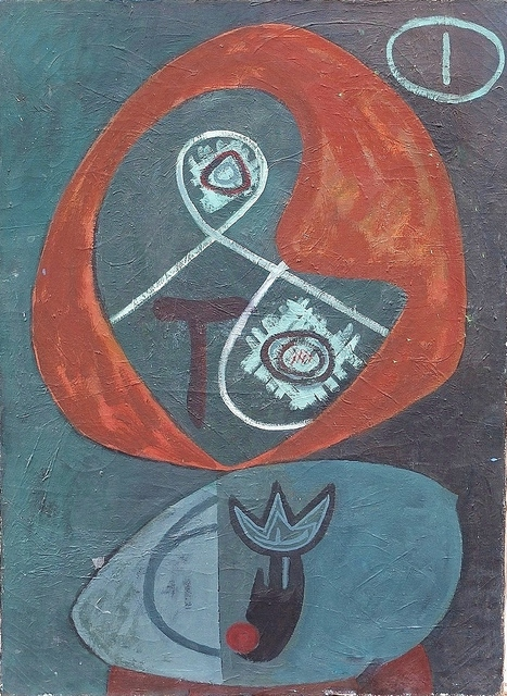 , 'Untitled Biomorphic,' c. 1945, Lawrence Fine Art