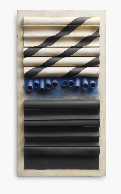Luis Wells, 'Composición', 1964, Painting, Wood, cardboard and paint, MAMAN Fine Art Gallery