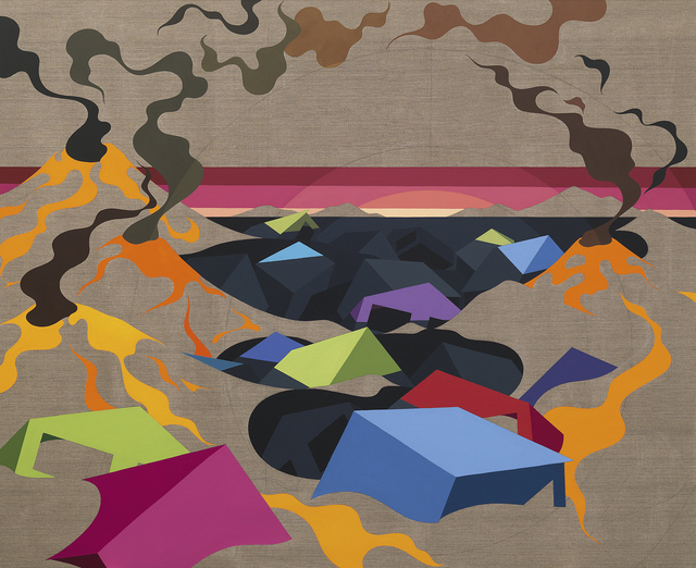 , 'Land and Sea,' 2014, Galerie Mikael Andersen
