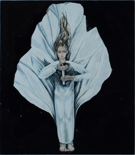Meta Isaeus-Berlin, 'Håll lågan levande, 2020', 2020, Painting, Oil on canvas, CFHILL