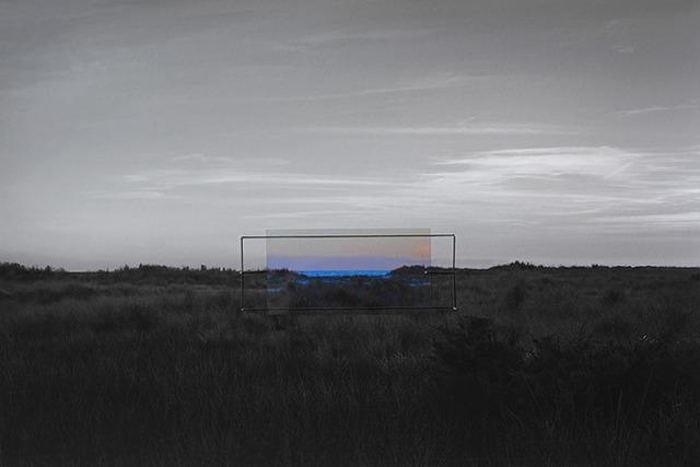Haoran Fan, 'Open Cinema, Fire Island, New York ', 2015, Photography, Inkjet print, thread, transparent film, Brownie Project