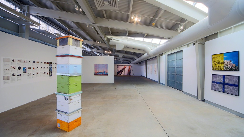 Installation view of Radical Landscapes. February 6 - April 3, 2016. di Rosa, Napa. Photo: J. Jones
