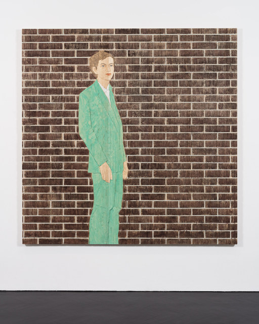 , 'Man in Front of a Wall,' 2016, Stephen Friedman Gallery