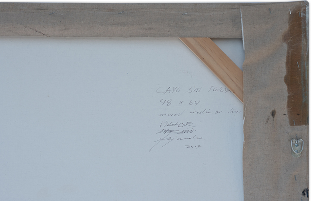 Victor Alejandro MATTERMAN, 'No shape key', 2013, Painting, Mixed on linen, JCamejo Art