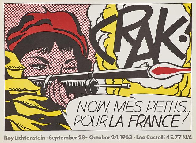 Roy Lichtenstein, 'Crak!', 1963, Rago