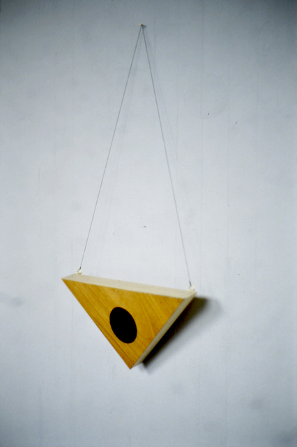 , 'Public Triangle,' 1993, Instituto de Visión
