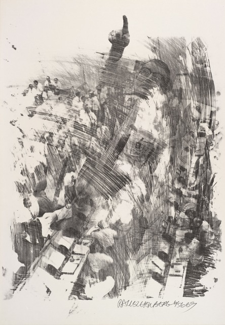 Robert Rauschenberg, 'Sky Rite (Stoned Moon)', 1969, Print, Lithograph, San Francisco Museum of Modern Art (SFMOMA)