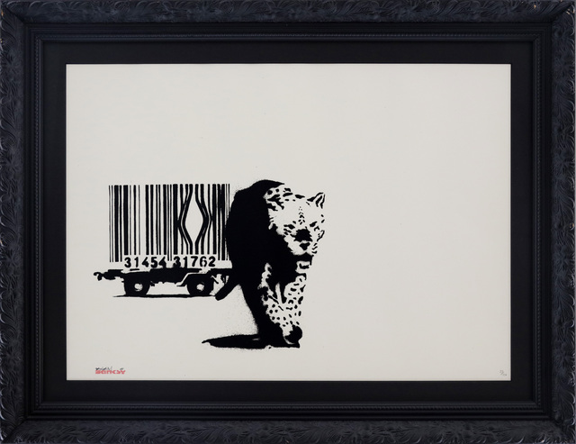 , 'Barcode signed,' 2004, Galerie Kronsbein