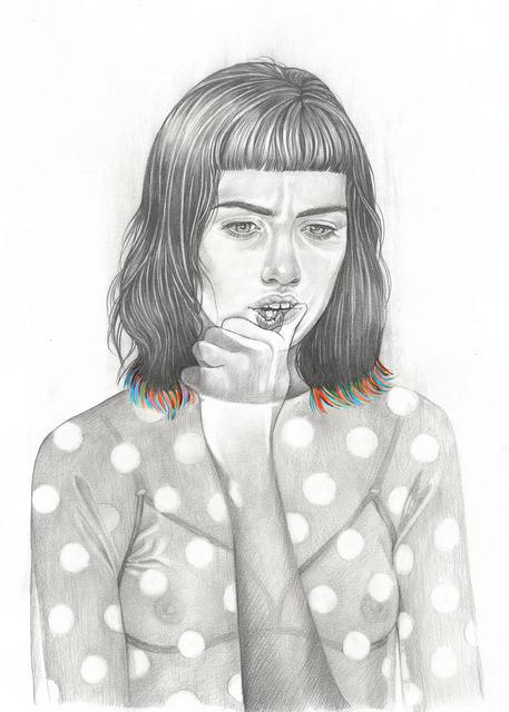 , 'My Phantom Limbs (drawing),' 2017, Massey Klein Gallery
